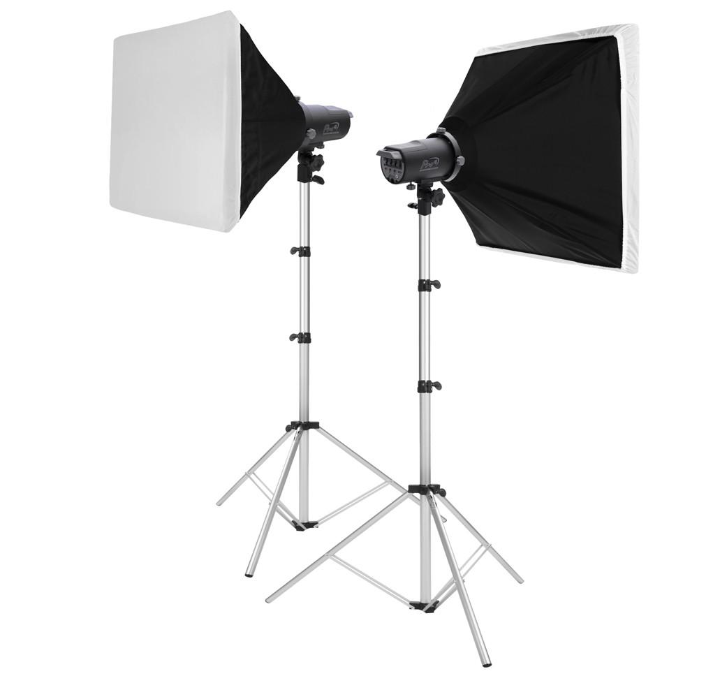 Kit  Pro 4 com softbox 75x75