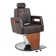 Poltrona Cadeira Malbec Reclinável Móveis Barbeiro Barbearia