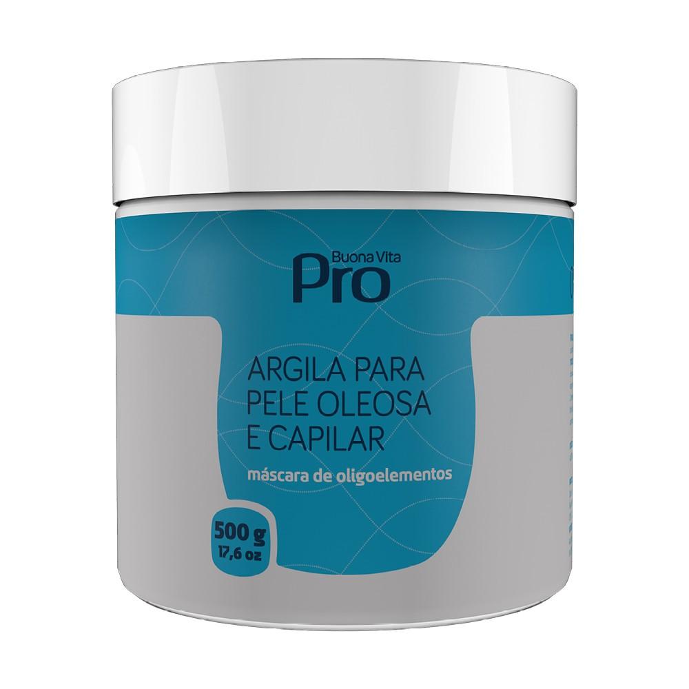 Argila Enriquecida Pele Oleosa e Capilar - 500g