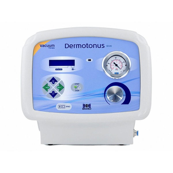 Dermotonus Slim IBRAMED - Aparelho de Vacuoterapia e Endermologia PRONTA ENTREGA