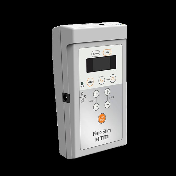 Fisio Stim HTM - aparelho de Correntes Excitomotoras portátil - PRONTA-ENTREGA