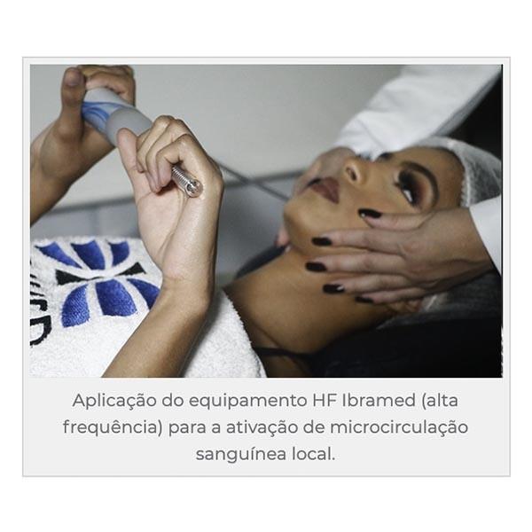 HF IBRAMED - Aparelho De Alta Frequência Tratamentos Faciais E Podologia - PRONTA ENTREGA