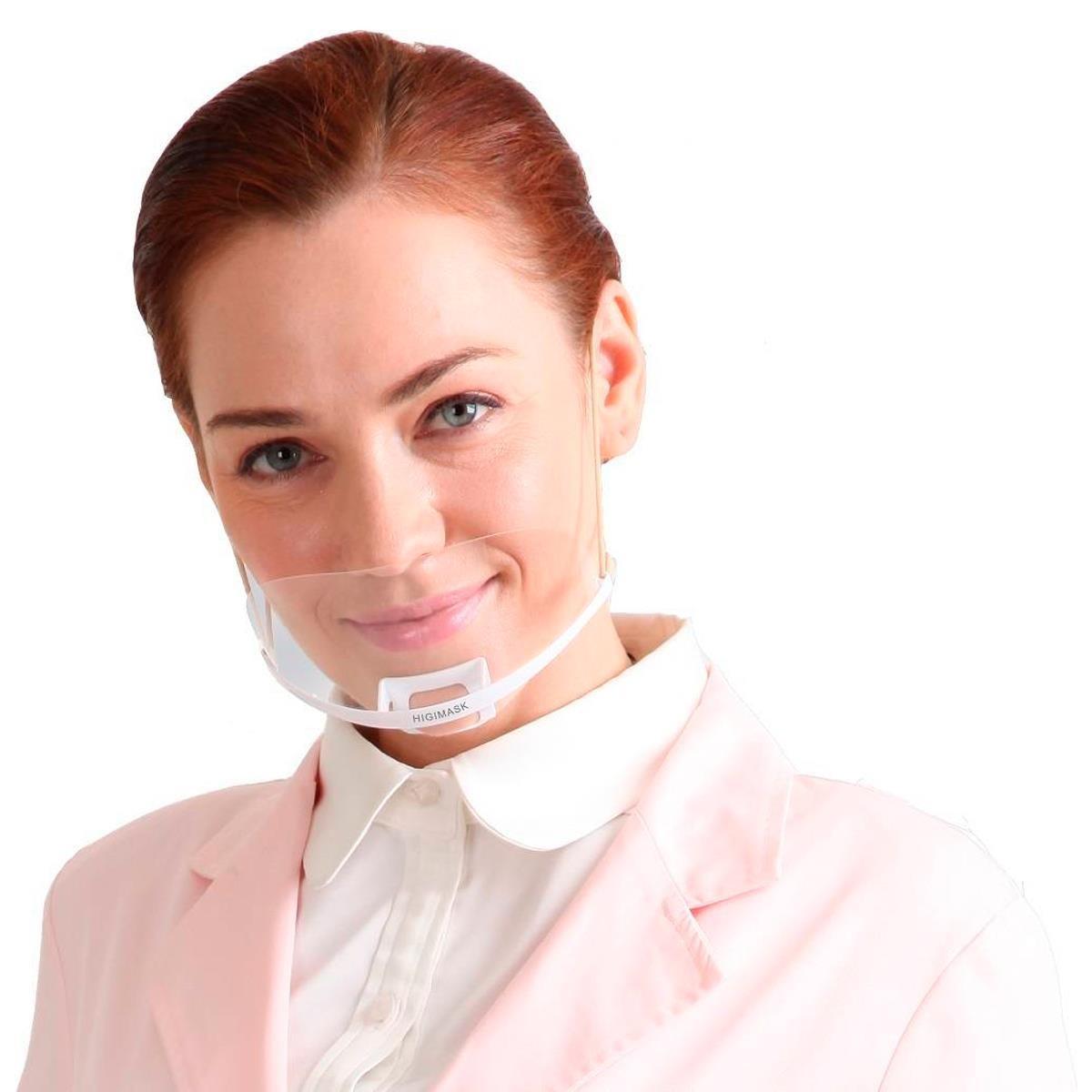 Máscara de Proteção Salivar - Higimask