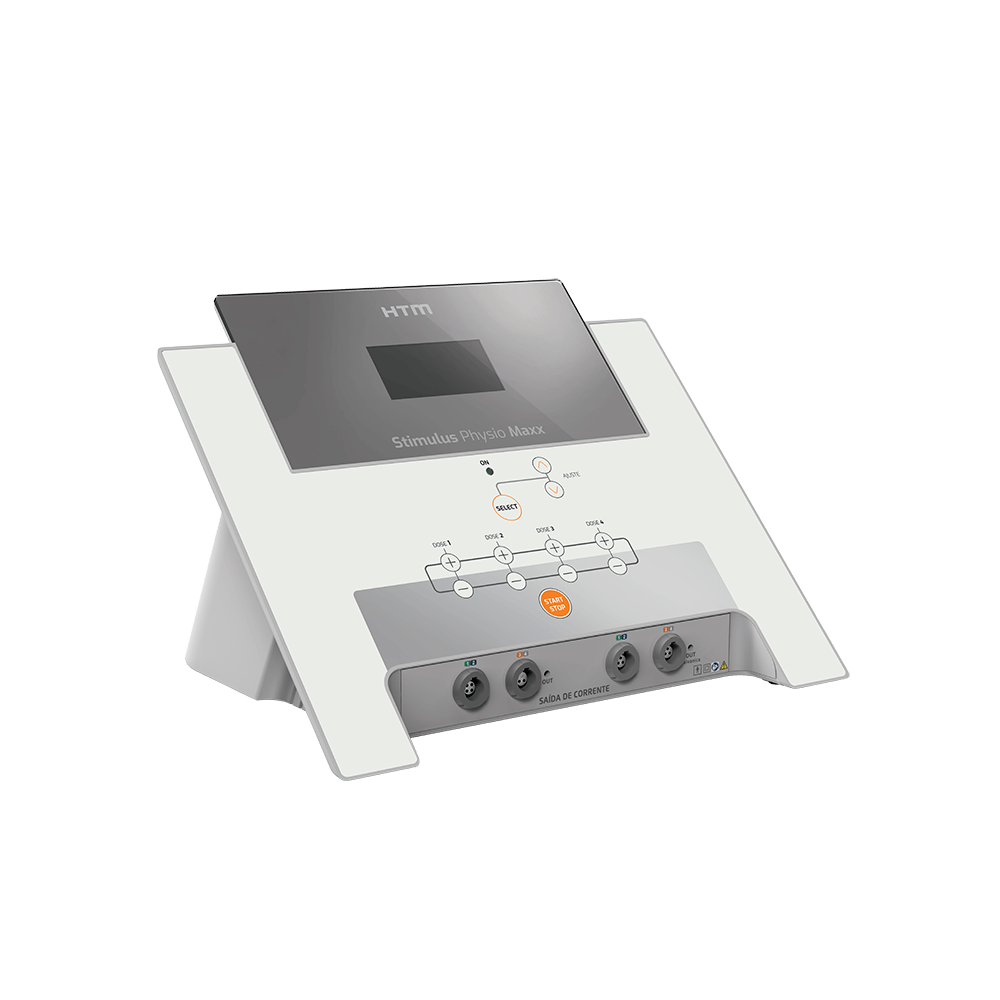 Novo Stimulus Physio Maxx Completo gerador de correntes Excitomotoras - HTM