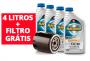 Kit de 4 Litros Havoline + 5W30 Sintético + Filtro de óleo Grátis