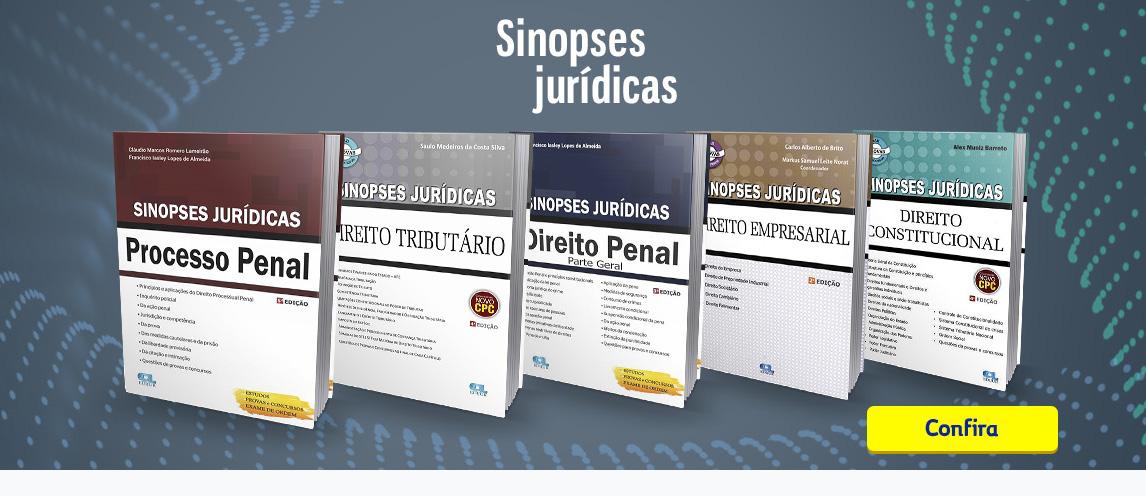 Sinopses Jurídicas