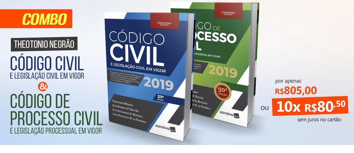 Código De Processo Civil 50ª Ed. | Código Civil 37ª Ed.