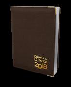 Agenda Jurídica - Diário do Direito 2018 - MARROM