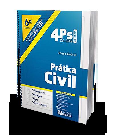 4Ps da OAB - Prática Civil - 6ª Ed. 2019