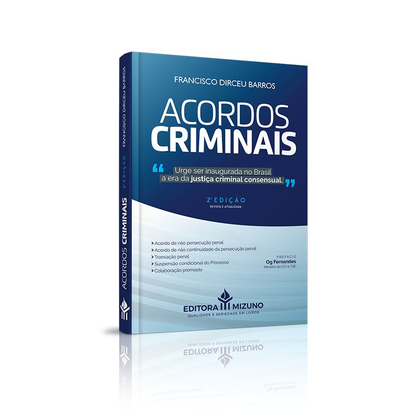 Acordos Criminais - 2ª Edição