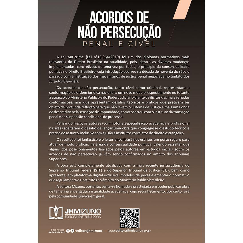 Acordos de Não Persecução Penal e Cível