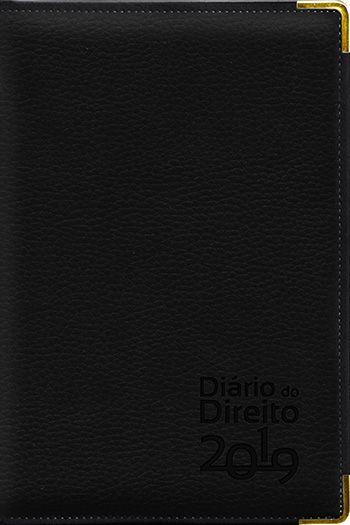 Agenda Jurídica - Diário do Direito 2019 - PRETO