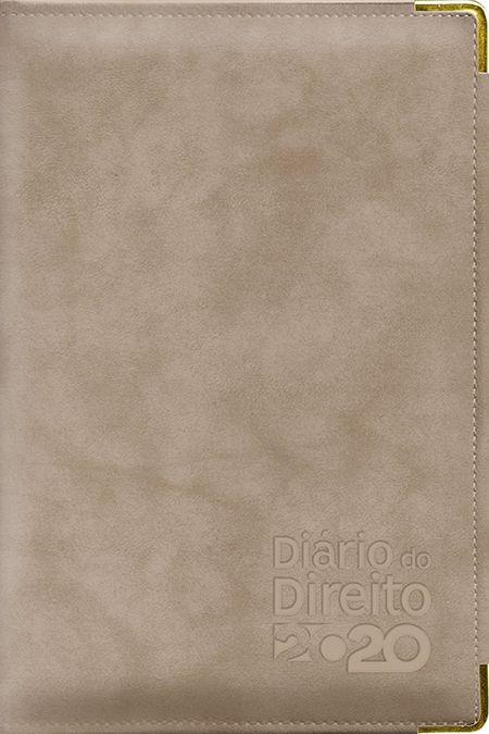Agenda Jurídica - Diário do Direito 2020 - BEGE CROCO