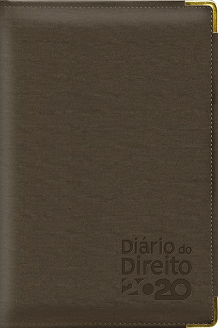 Agenda Jurídica - Diário do Direito 2020 - MARROM CAFÉ