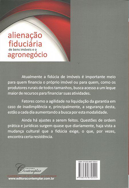 ALIENAÇÃO FIDUCIÁRIA DE BENS IMÓVEIS E O AGRONEGÓCIO