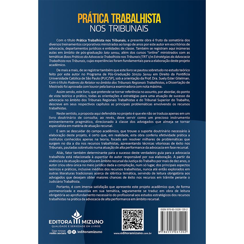 Prática Trabalhista nos Tribunais - TRT?s e TST