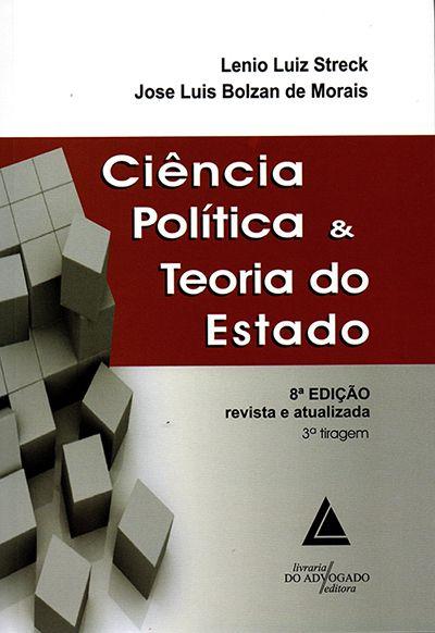 Ciência Política e Teoria do Estado - 8ª Edição
