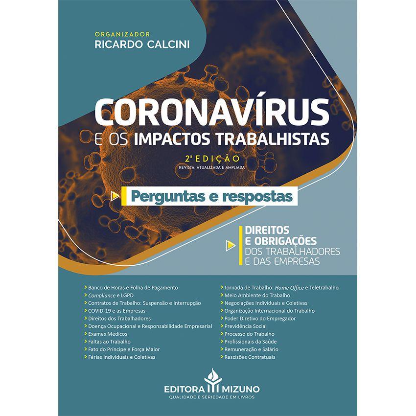 Coronavírus e os Impactos Trabalhistas - Perguntas e Respostas - 2ª Edição