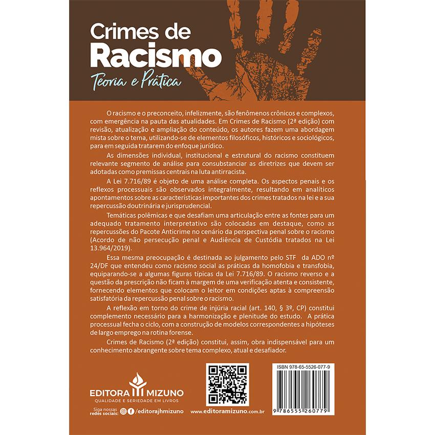 Crimes de Racismo - Teoria e Prática - 2ª Edição