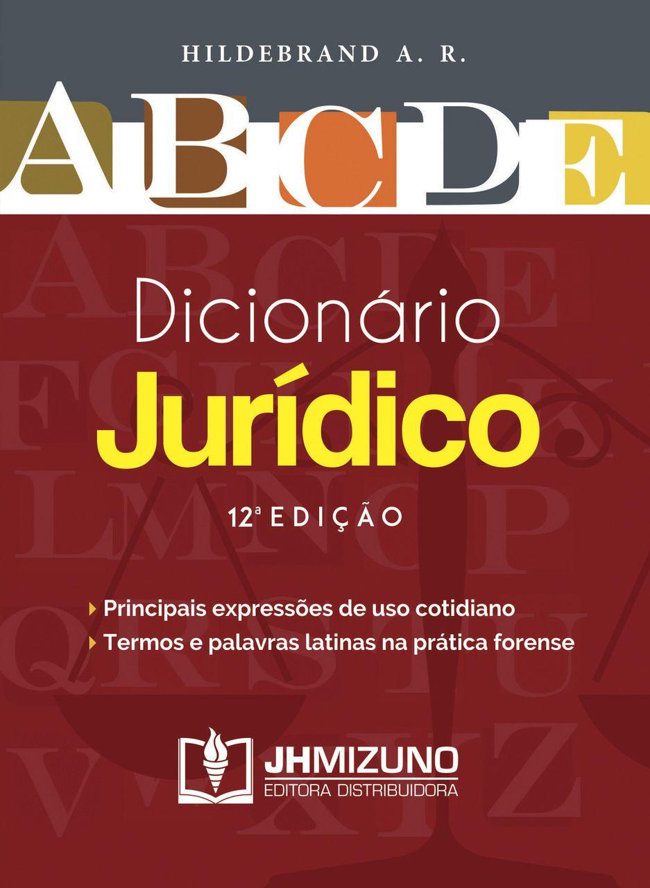 Dicionário Jurídico – 12ª Edição