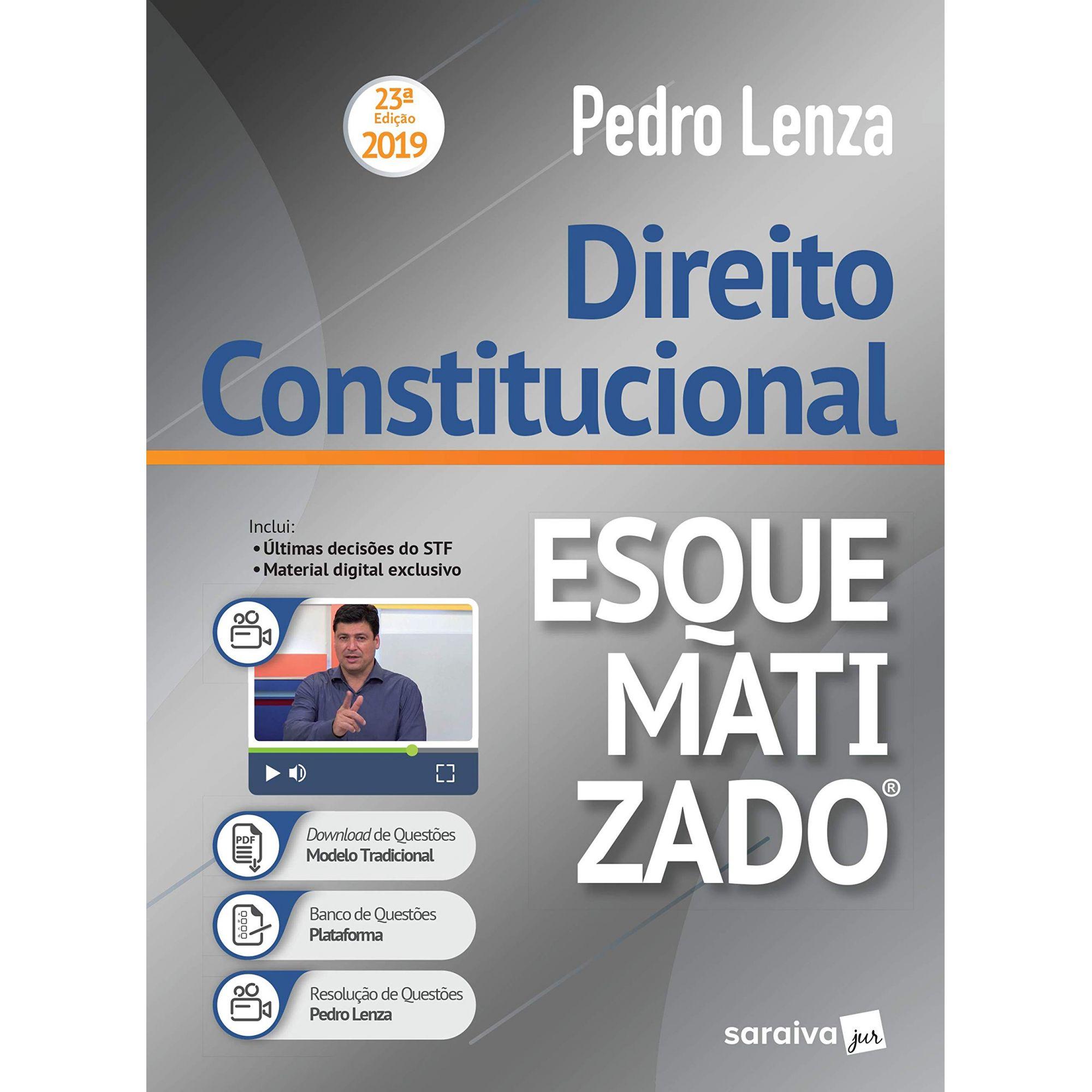 Direito Constitucional Esquematizado - 23ª Edição - Pedro Lenza