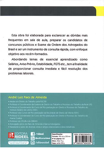 Direito do Trabalho - Material, Processual e Legislação Especial - 19ª edição