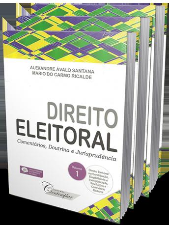 Direito Eleitoral Volumes 1, 2 e 3