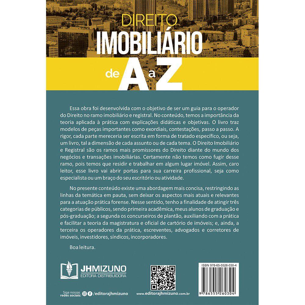 Direito Imobiliário de A a Z - Teoria e Prática