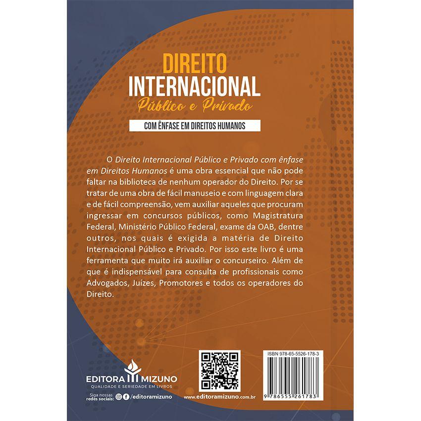 Direito Internacional Público e Privado com Ênfase nos Direitos Humanos
