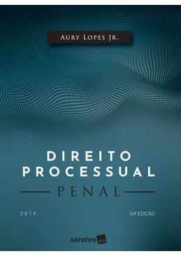 Direito Processual Penal - 16ª Edição