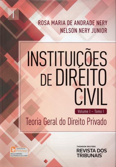 Instituições de Direito Civil  Volume I  Tomo I