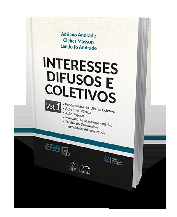 Interesses Difusos e Coletivos - Vol. 1 - 8ª Edição