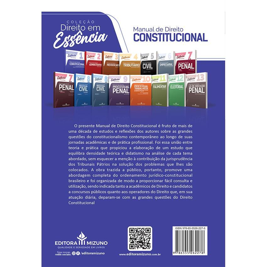Manual de Direito Constitucional - Vol. 1