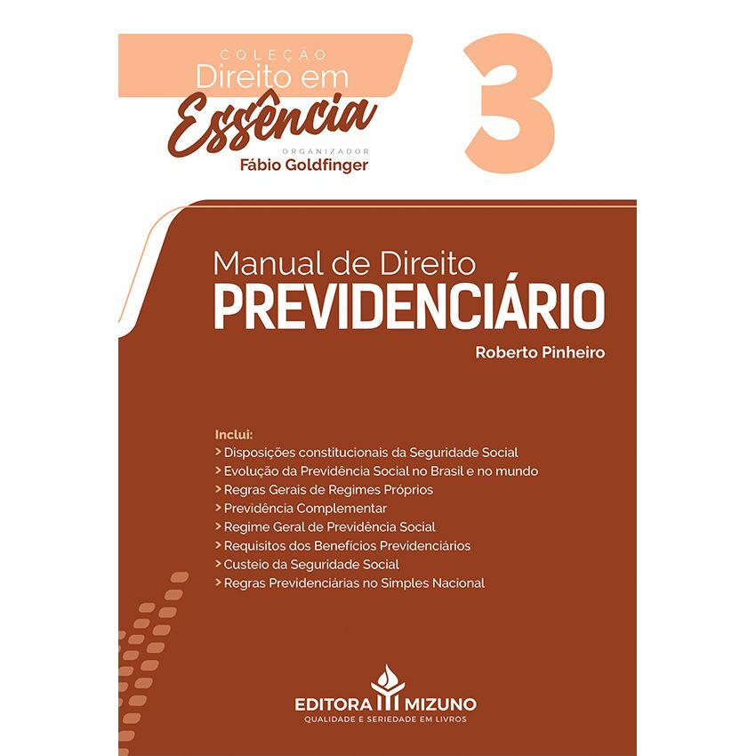 Manual de Direito Previdenciário - Vol. 3