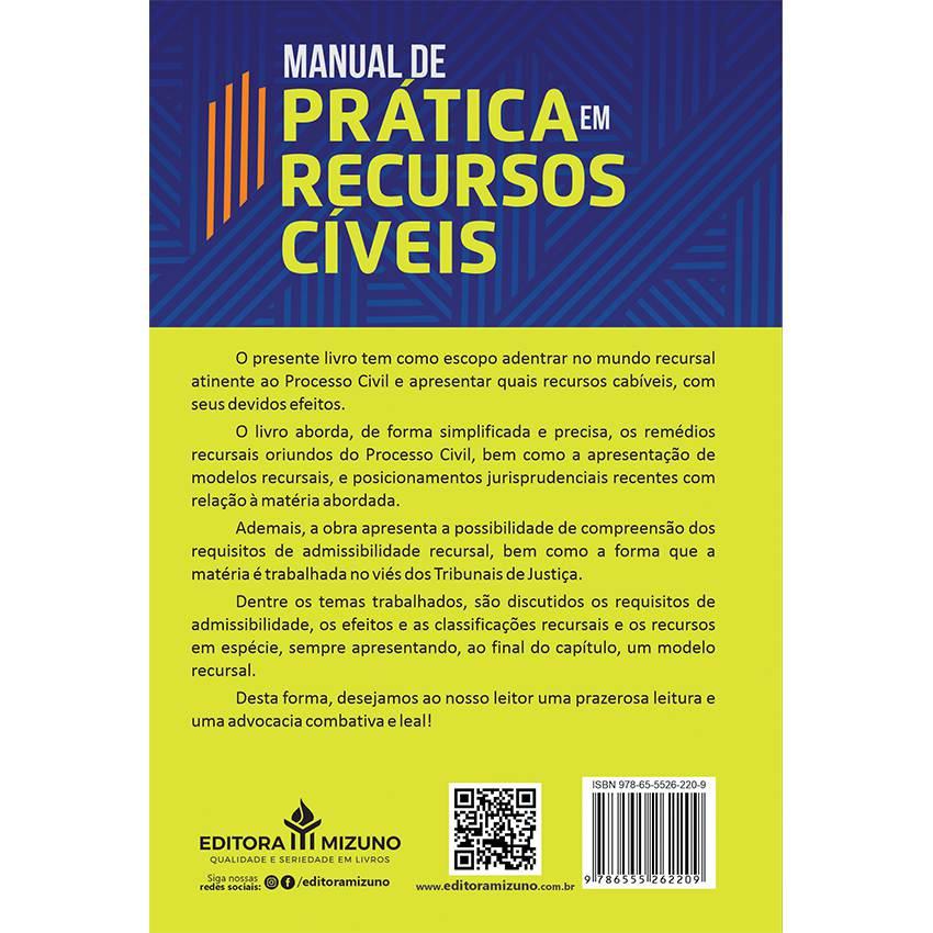 Manual de Prática em Recursos Cíveis