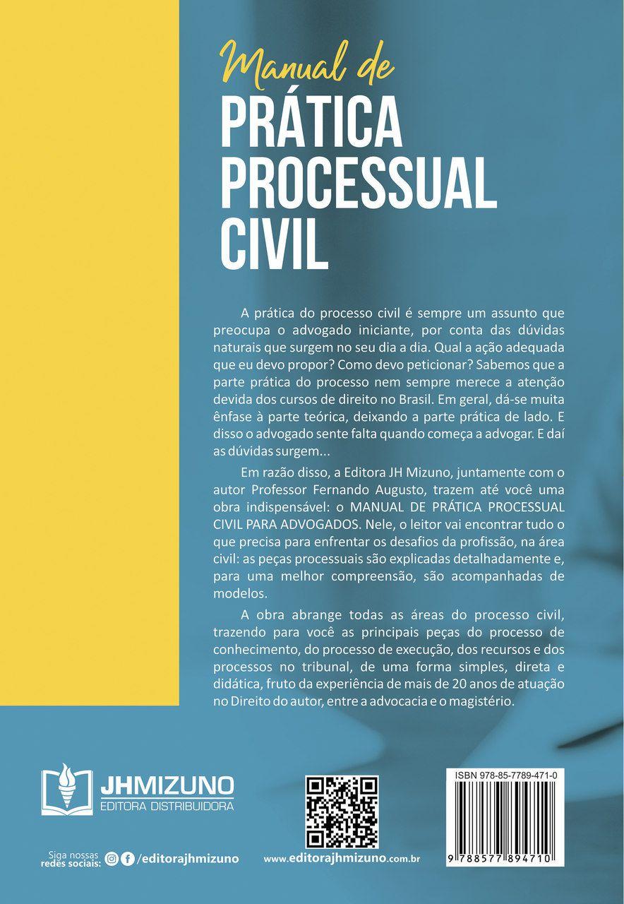 Manual de Prática Processual Civil