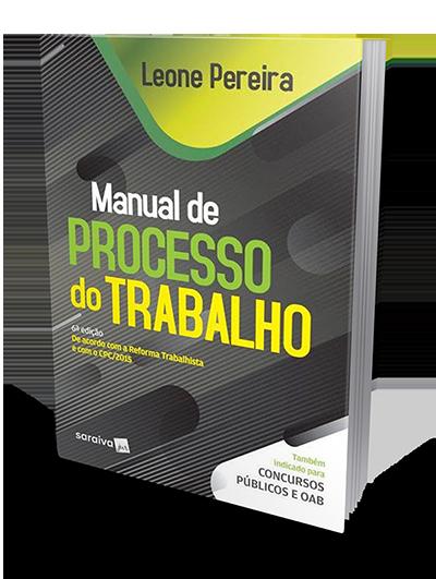 Manual de Processo do Trabalho - 6ª Edição