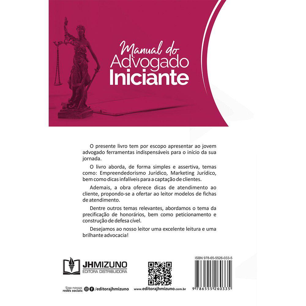 Manual do Advogado Iniciante - 2ª Edição