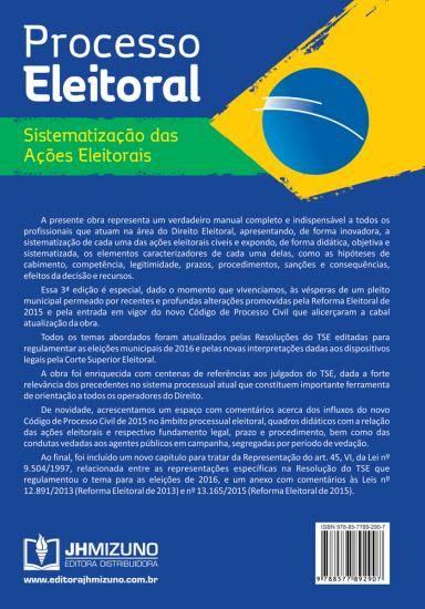 Processo Eleitoral - Sistematização das Ações Eleitorais