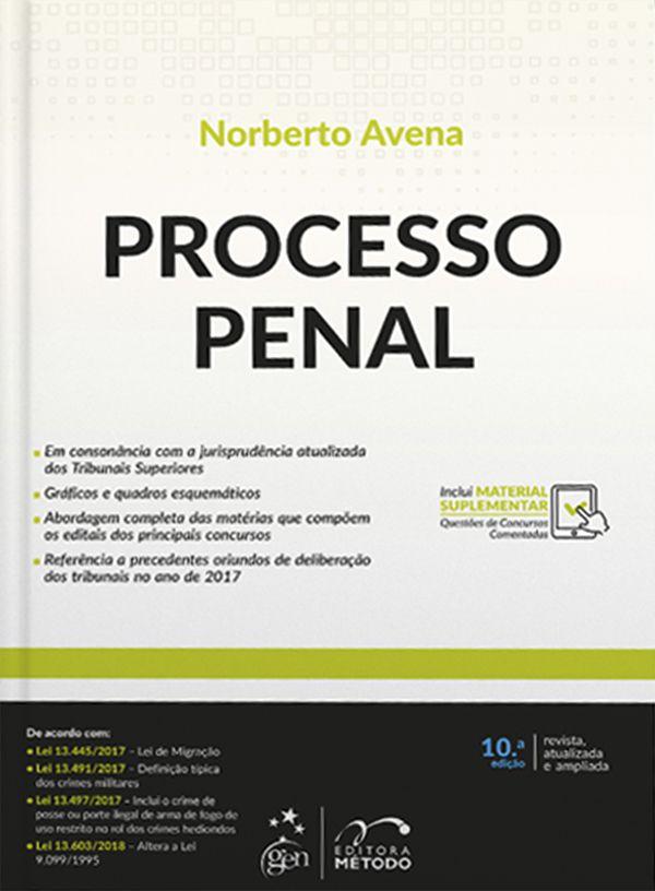 Processo Penal - 10ª Edição