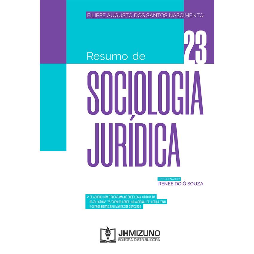 Resumo de Sociologia Jurídica