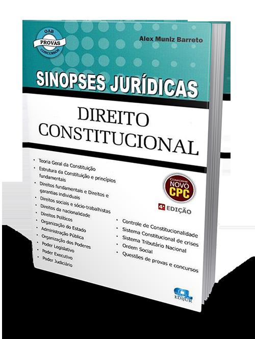 Sinopse de Direito Constitucional - 4ª Edição