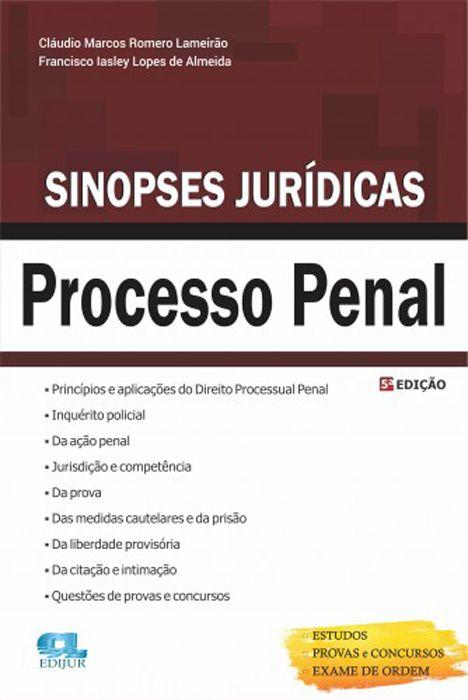Sinopse Jurídica Processo Penal - 5º Edição