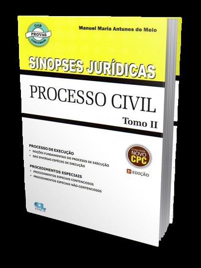 Sinopses Jurídicas - Processo Civil Tomo II