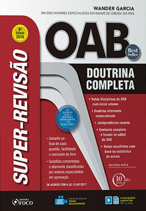 Super-Revisão OAB - Doutrina Completa - 8ª Ed.