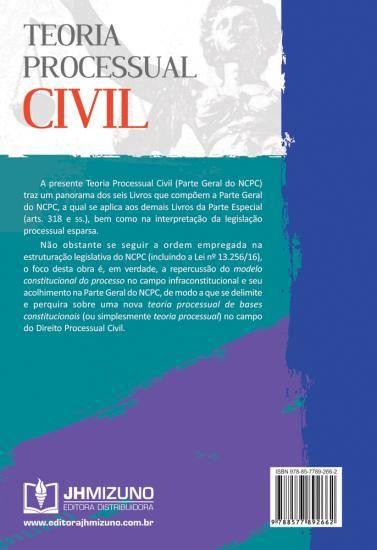 Teoria Processual Civil - Parte Geral do NCPC