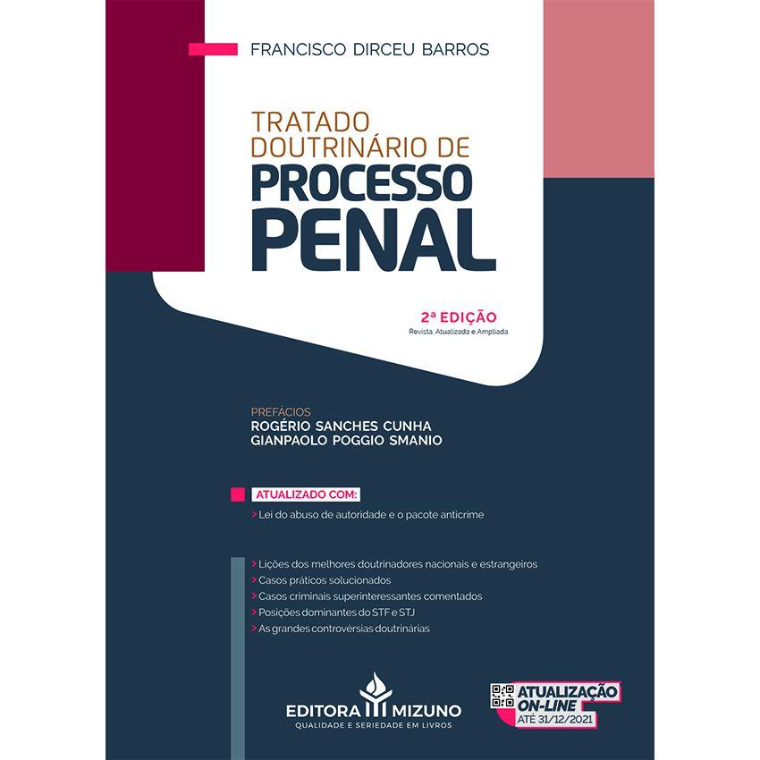Tratado Doutrinário de Processo Penal - 2ª Edição