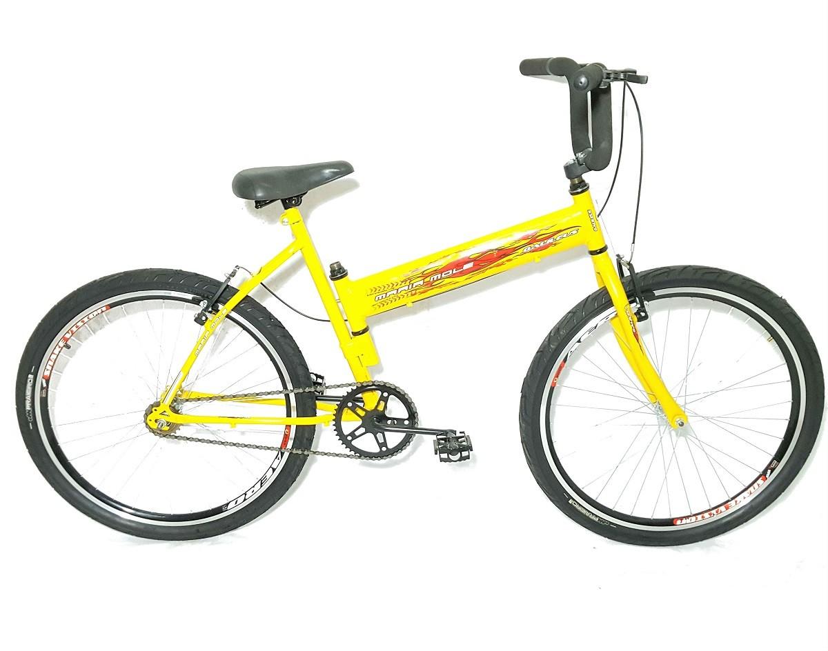 Bicicleta Maria Mole Amarela Galilleus