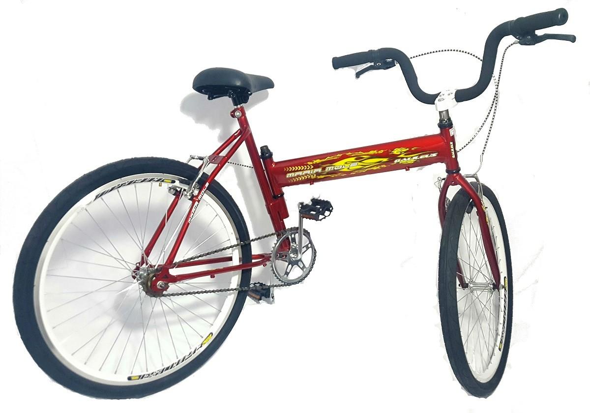 Bicicleta Maria Mole Vermelha Galilleus