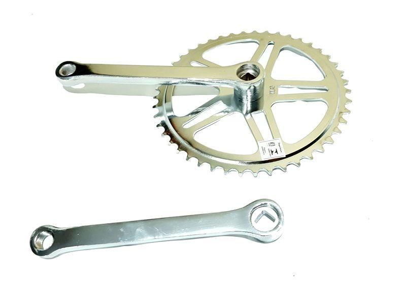 Pedivela Com 1 Coroa Para Cross/bmx E Bicicletas S/ Marcha